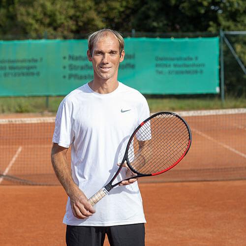 Tennistrainer Sven Haider